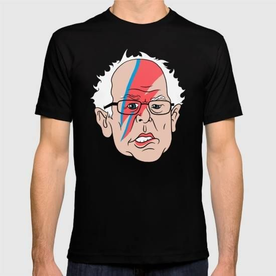 (Unisex Bowie Sanders T-Shirt) #And #Bernie #Big #Birthday #BowieS #David #Friday #Gains #Illustration #In #Made #Music #Over #People #Political #Polls #Pretty #Sanders #Some #The #Was #Weekend is available on Funny T-shirts Clothing Store   http://ift.tt/2fT5JVA