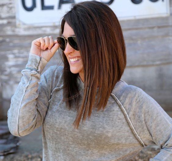 Kumral Saç Rengi İçin En Güzel Saç Kesim Modelleri | SadeKadınlar - Moda