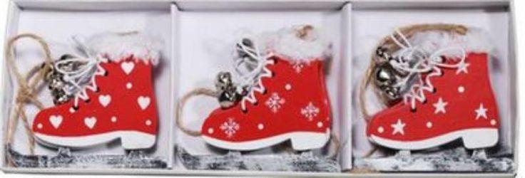 zzgl. versand - siehe auch www.grado-basteln-spielen.deDeko Schlittschupaar mit Glöckchen- 3 Paar, rot/weiß- aus Holz, ca. 7 x 8 cm- beidseitig gestaltet- mit Plüsch-Besatz- für Winter- oder Weihnachtsdekoration etc.