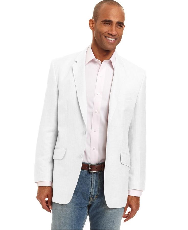 Blazer macy 39 s hommes en blanc pinterest herringbone blazer blazers and herringbone - Blazer blanc homme ...