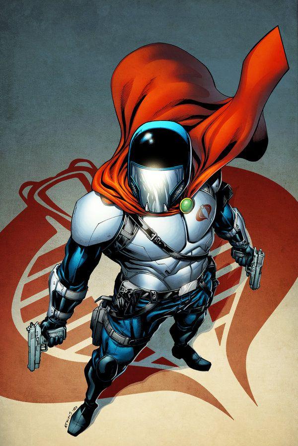 Cobra Commander - line art: Robert Atkins, color: spidermanfan2099