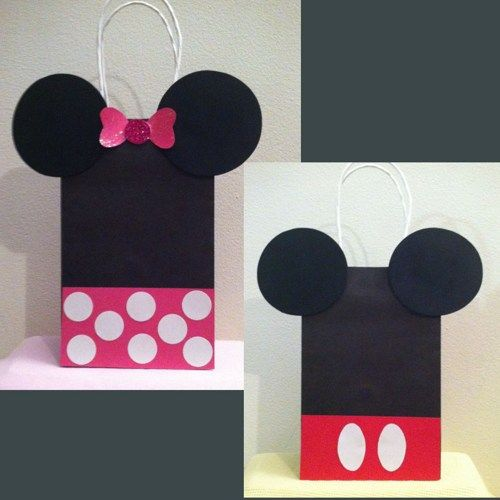 Mickey Mouse Birthday Goody bag, Birthday Party Decorations
