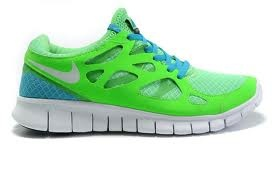 blue and green frees