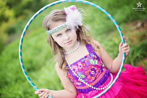 "Circus themed mini session. Image from ""Come Join Our Circus"" mini sessions with Absolutely Epic Photography"