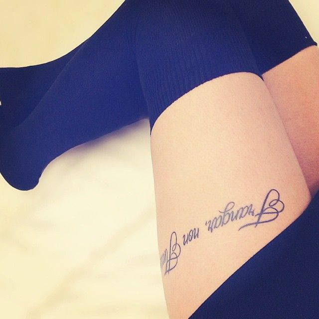 """Breakup Tattoo Quotes: @rosalatino91's Tattoo """"frangar, Non Flectar"""" Which Means"""