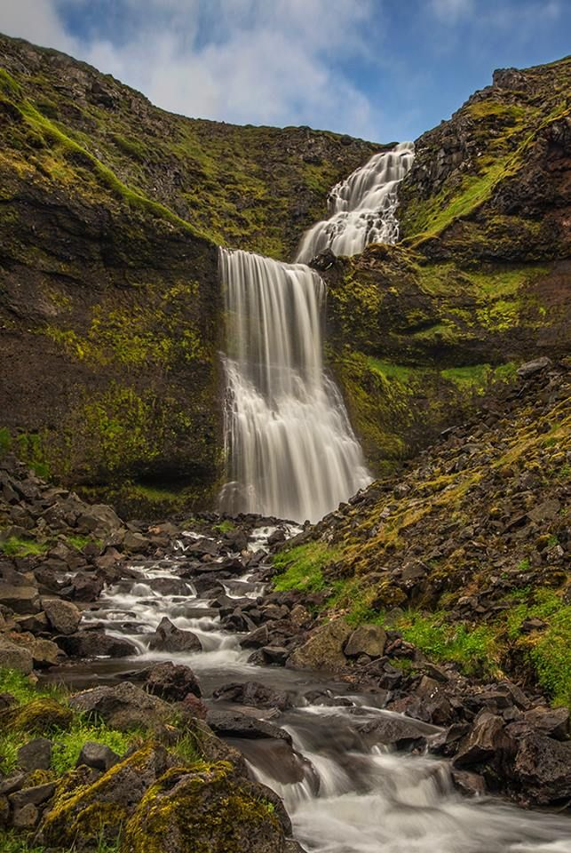 Roman Kurywczak    At this time of year, the waterfalls are everywhere in Iceland. Sigma 24-105mm f/4 Art at 35mm and f/22 for 0.6 seconds and ISO 50 with Benro Master series pro circular polariser and graduated split ND filter all mounted on Induro CF tripod and ballhead.
