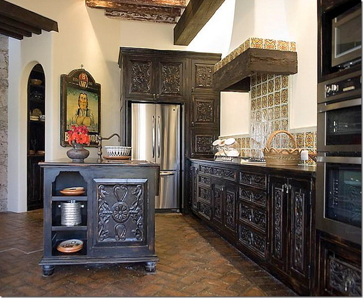 17 best images about mexican homes casas mexicanas on for Spanish style kitchen decor