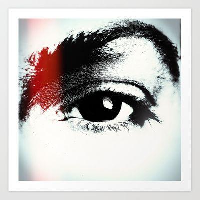 Eye Art Print by anasu007 - $18.00