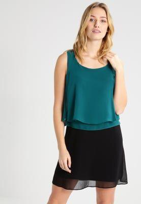Jurken NAF NAF SHANNA NEW - Korte jurk - malachite/black Zwart: 39,95 € Bij Zalando (op 14/03/17). Gratis verzending & retournering, geen minimum bestelwaarde en 100 dagen retourrecht!