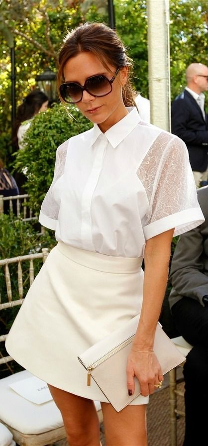 Victoria Beckham.  Style Icon. White Alchemy. www.whitealchemy.com.au