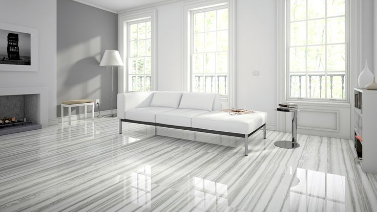 This living space shines in Zebrino from our Classic Design series