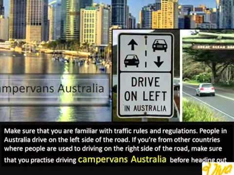 What Australian Visitors Must Know in Renting and Driving Campervans Australia - YouTube