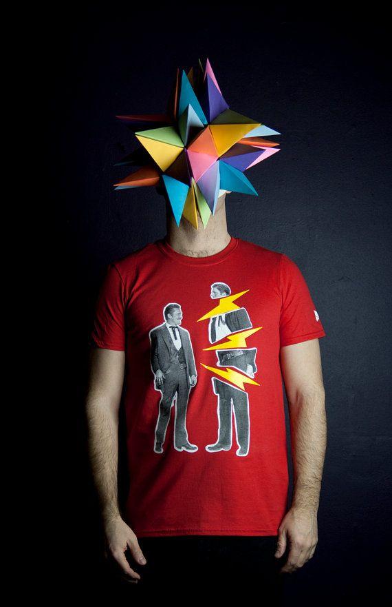 T-shirt duel de cowboy fachés dont un qui par MoustacheMoutarde