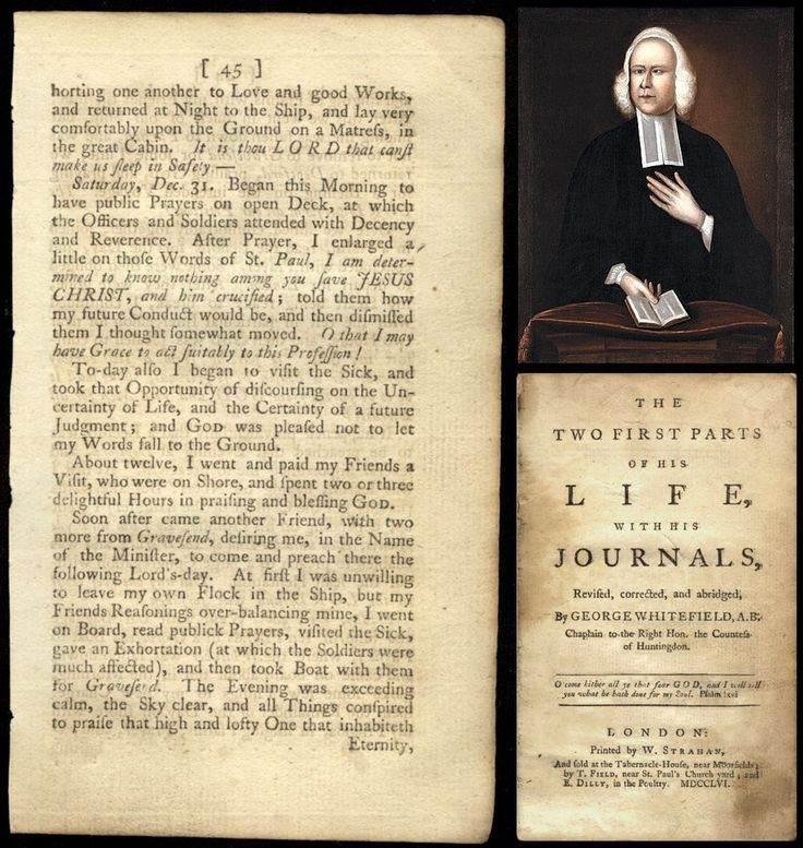 On The Death Of Rev. Mr. George Whitefield