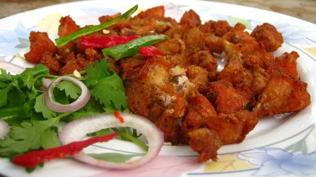 Indian Masala and Recipes: Chicken 65 gravy recipe kerala style