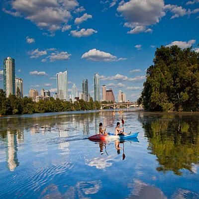 Visiting Austin? Check out the gorgeous Lady Bird Lake! | SouthernLiving.com
