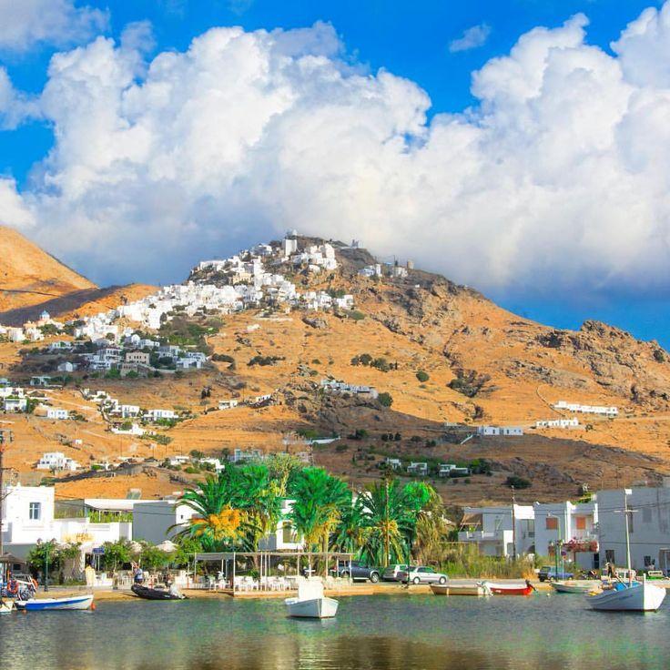 The beautiful Serifos island (Σέριφος)