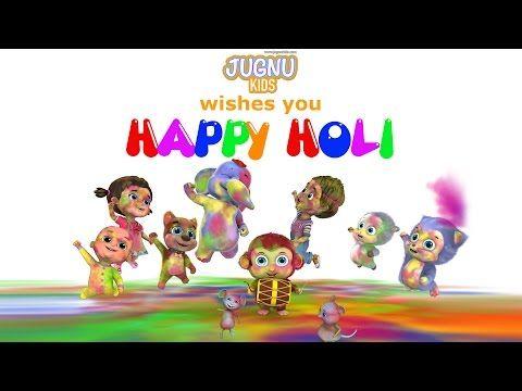Holi Dance Video - Happy Holi from Jugnu Kids - YouTube