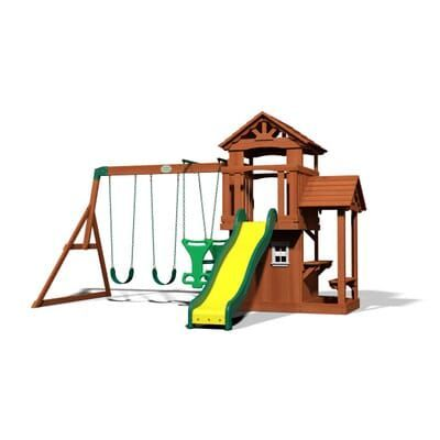 Backyard Discovery Tanglewood All Cedar Swing Set-55010com ...
