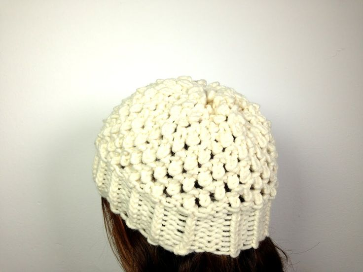 Loom Knit Baby Hat Tutorial : Best images about boinas tejidas on pinterest crochet