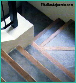 cemento y madera