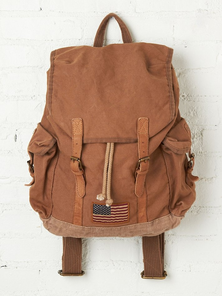 Barbour Canvas Backpack