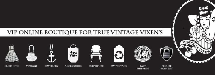 VINTAGE VIXEN AUSTRALIA | For all your Rockin alternative needs!!!