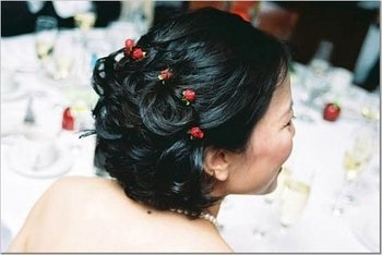 Wedding, Hair, Short