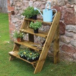 Step Ladder Planter