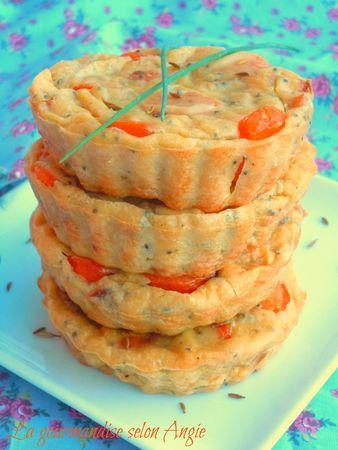 Clafoutis de carottes au lait de coco et cumin}