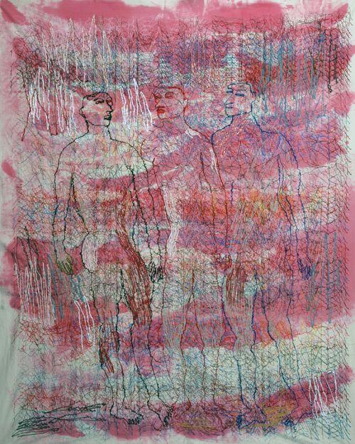 Alice Kettle  Ormopenthesis, Schiffli Project 2007
