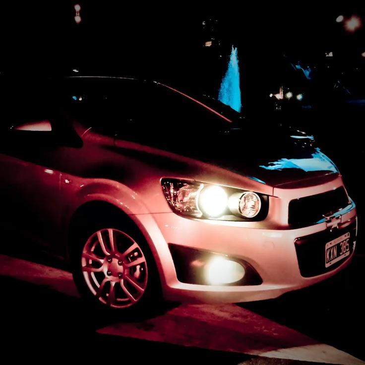 Quinta imagen (28/01/2013) ¿Con qué tipo de iluminación en el tablero cuenta nuestro Chevrolet Sonic Hatchback? #ChevroletNoSeDetiene