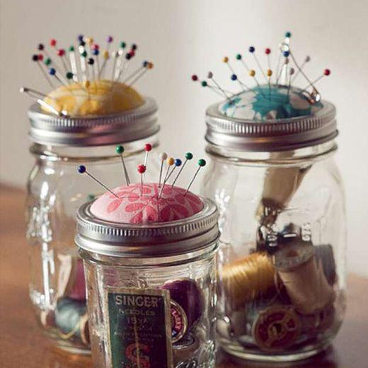Craft Ideas Empty Jam Jars: Πως Μπορείς Να χρησιμοποιήσεις Τα Βαζάκια Μαρμελάδας Στη