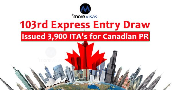 The Canadian Government Has Announced 3 900 Ita S For Canada P R In A Current Express Entry Draw Conducted On Monday Oct 29 The Expressions Drawings Canadian