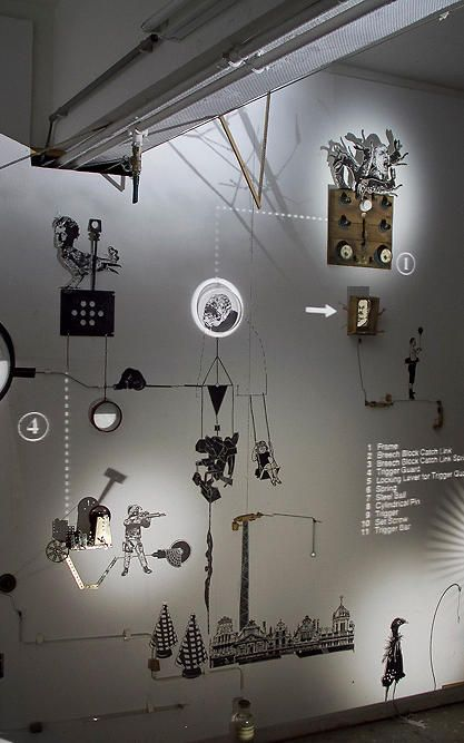 A Magical Installation Combines Rube Goldberg With Shadow Puppets