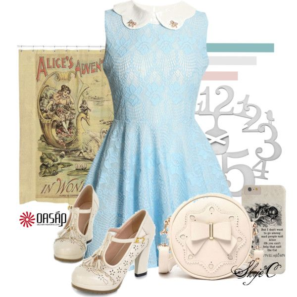Disney's Alice in Wonderland - Oasap Inspiration by rubytyra on Polyvore featuring Koziol