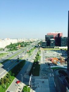 Window View, Sofia Bulgaria