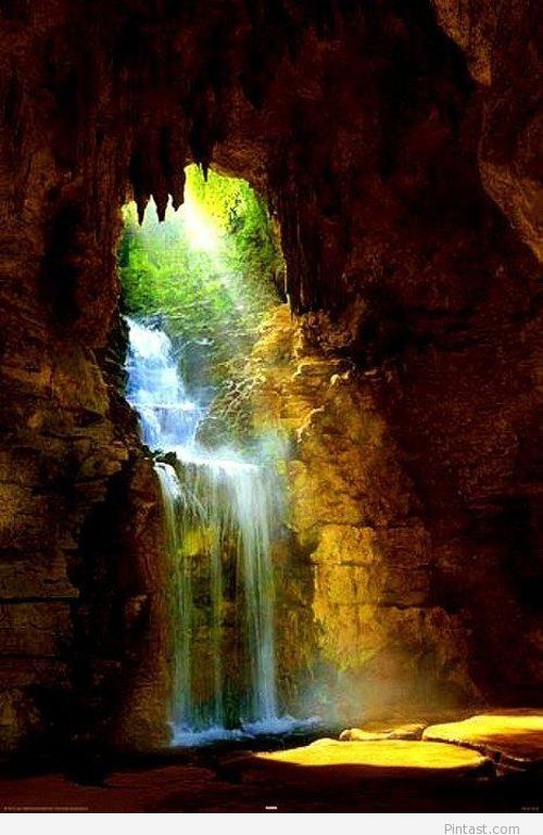 Waterfall Cave in Romania, Cugir
