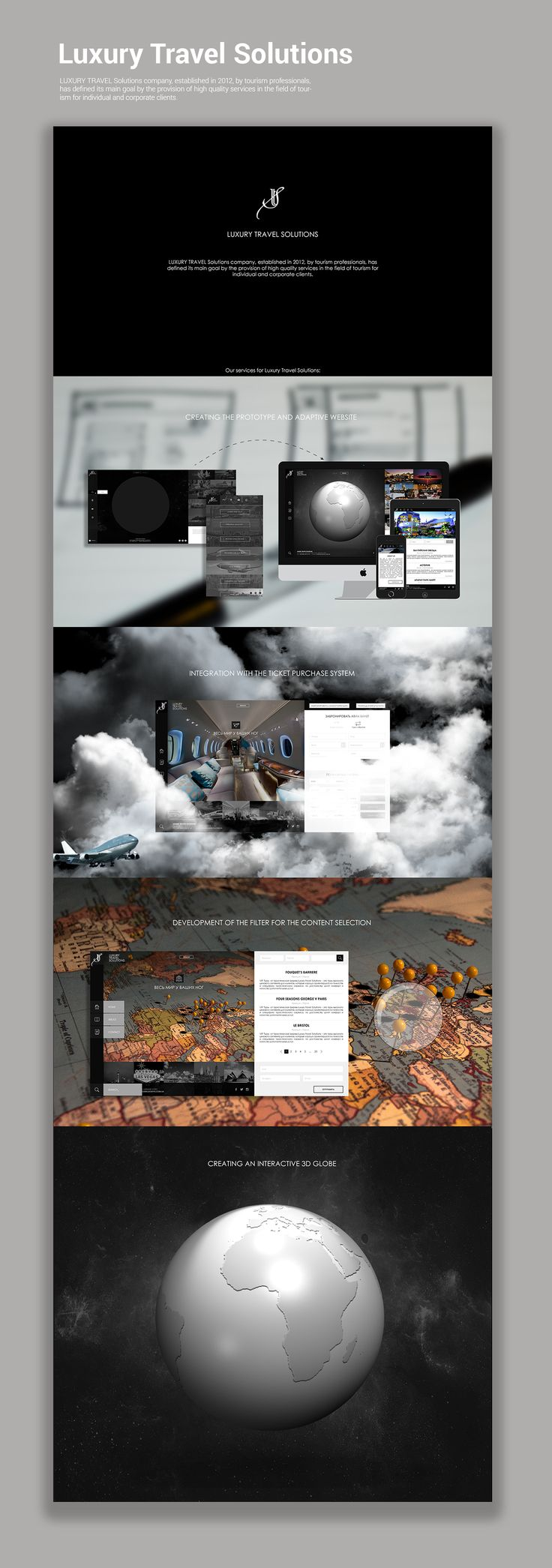 Luxury Travel Solutions on Behance