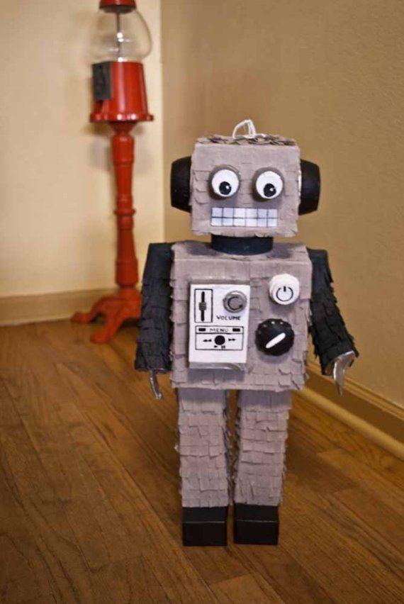 robot pinata ideas