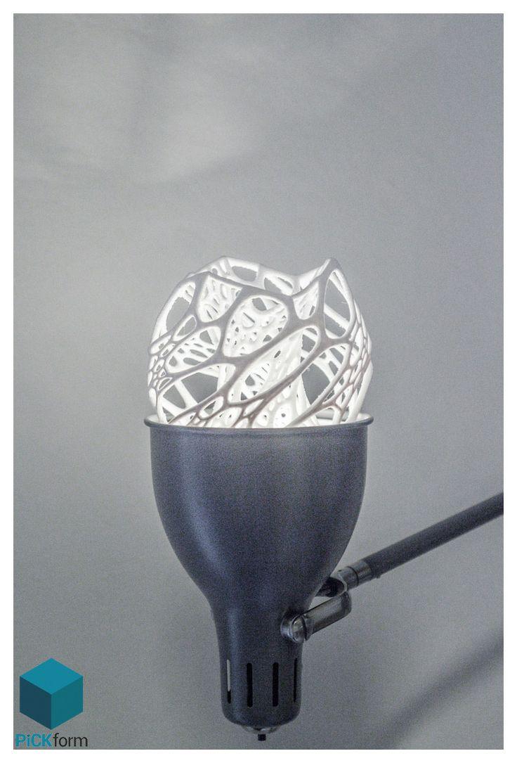Cellular lamp design with FDM printer!