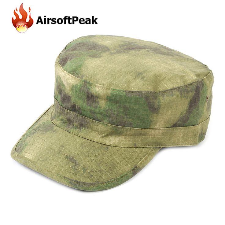 Military Adjustable Baseball Cap Tactical Hunting Hats A-TACS FG