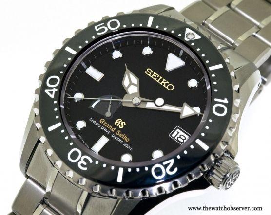 Grand Seiko Spring Drive Diver 200