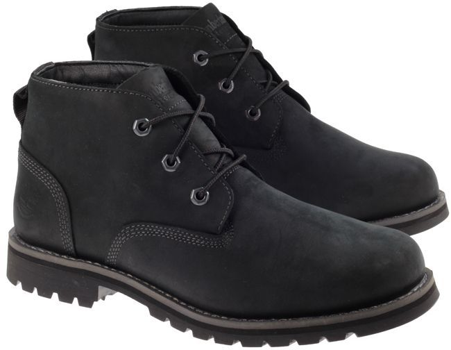 These Timberland Mens Larchmont Chukka Boots in Black are a Waterproof boot allowing you to explore the urban streets or pathways at weekends. A cushioned and supportive Ortholite footbed, breathable and comfy PET lining and extra grippy L7 lug outsole offer all day comfort in style.Now with Free UK Next Day Delivery - Order by 4pm Mon - Fri