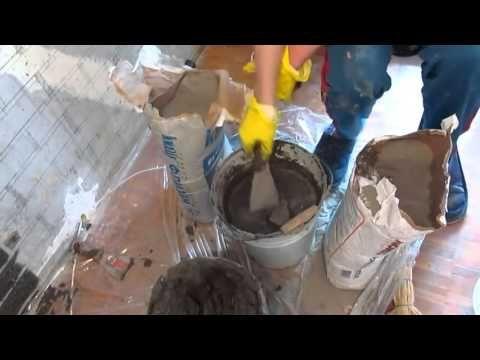 Имитация кирпичной стены своими руками, имитация кирпичной кладки - YouTube