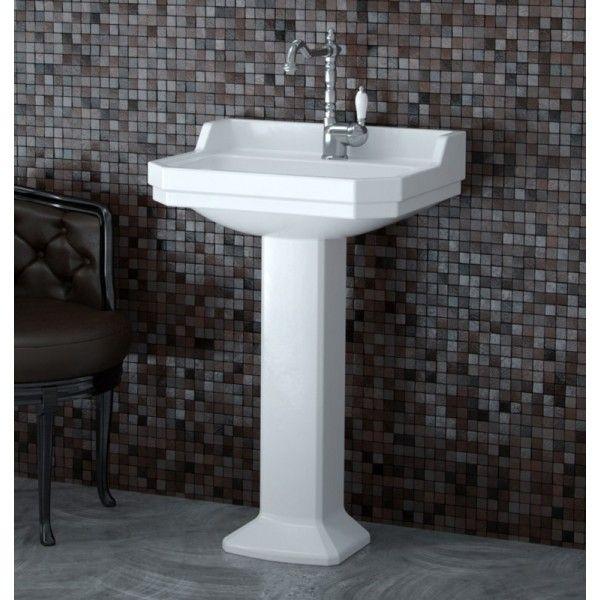 Ceramic Pedestal Basin Arlington 595 x 470mm