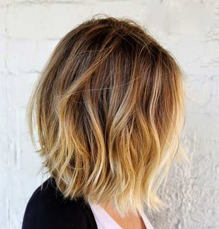 Pics For > Light Brown And Blonde Ombre Short Hair