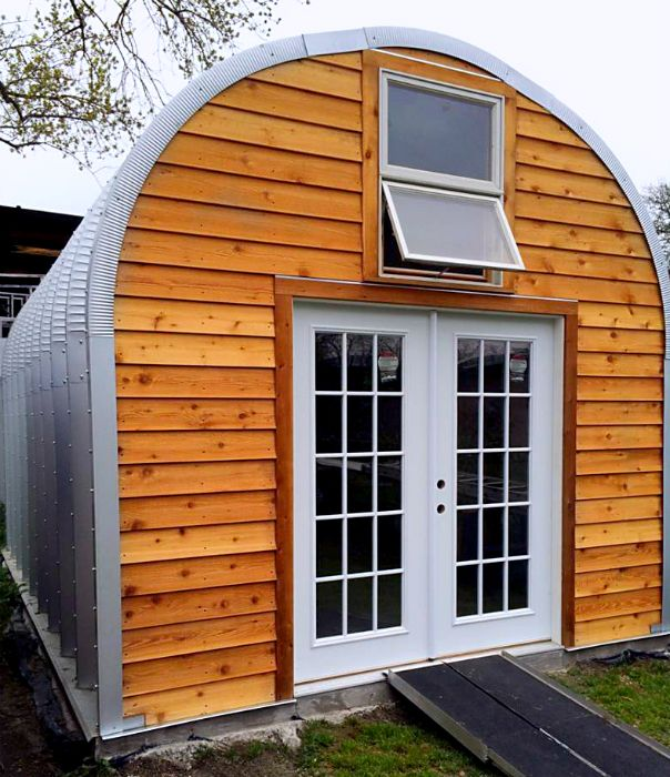 Metal Dome Garage : Best images about quonset huts on pinterest home
