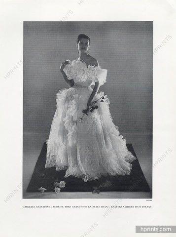 Marcelle Chaumont (Couture) 1948 Philippe Pottier