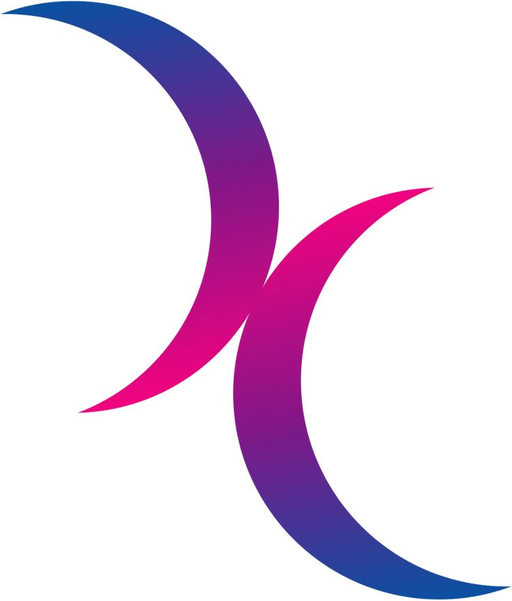 almost certainly getting this. bisexual moons symbol